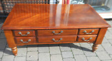 Dining Room Antique Style Coffee Tables with Drawers