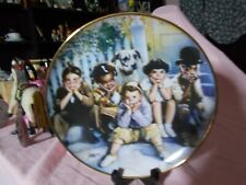 "Franklin Mint Little Rascal Decorative plate, "" The Little Rascals"""