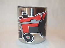 Massey Ferguson MF 1155 Tractor MAGNETIC Stainless Steel CUP HOLDER, Vinyl decal