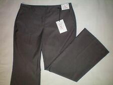 NWT NEW womens size 12 X 29 gray NEW YORK & CO modern fit flared dress pants