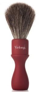 Horsehair Grey Vie-Long Spain 21mm Shaving Brush American Style Horse Hair Wood
