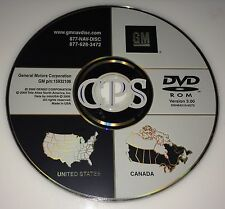 2005 2006 2007 CHEVROLET CORVETTE NAVIGATION DISC DVD CD 15932106 GPS MAP DISK