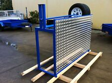TYRE RACK UNERVERSAL DESIGN TRACK RACE RALLY OR DRAG MANY USES