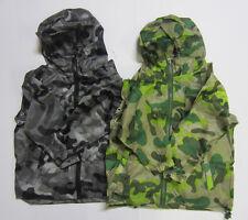 RJM - JK407 - The Fold Away Mac - Camoflage Design - Boys - Green or Black