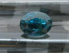 4.64 CT NATURAL SUPER DARK BLUE ZIRCON