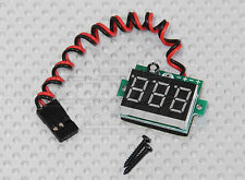 New On-Board LED RX Receiver Battery Voltage Display US RC