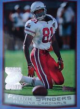 NFL 21 Frank Sanders Arizona Cardinals Topps Season Opener 1999