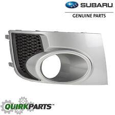 2011 Subaru Impreza WRX STi Right Fog Light Bezel Cover Silver OEM 57731FG290TI