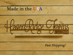 """6"""" Name Sign-Personalized Wall Hanging-Steel Work-Metal Signage-Home Gifts-S1032"""