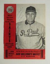 1946 St. Paul Saints Program Scorecard vs Mpls Millers - FLASH SALE
