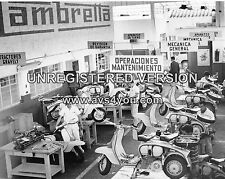 "Lambretta Scooters Mods 10"" x 8"" Photograph no 3"