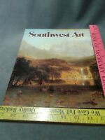 SOUTHWEST ART MAGAZINE Jan 1985 Stephen May Bierstadt Houser Conklin-Pratt