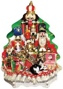 SunsOut Jigsaw Puzzle; Nutcracker Christmas; shaped; 1,000 pcs  #97106