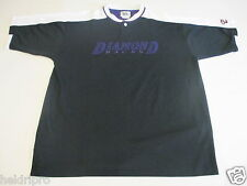 ARIZONA DIAMONDBACKS NEW VINTAGE MEN'S LARGE EMBROIDERED PULLOVER S/SLV SHIRT