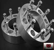 2 Pc Dodge Ram Cummins 2500 3500 Wheel Spacers Adapters 2.50 Inch # 8650G9/16
