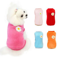 Winter Dog Clothes Fleece Warm Dogs Coat Dog Shirt for Small Dog Casual Outfit