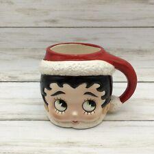 Vintage 1983 Kfs Betty Boop Santa Hat Ceramic Coffee Mug