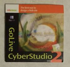 GoLive CyberStudio2 Web Design for Apple Mac with Serial Number - Vintage