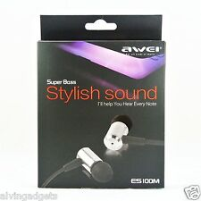 AWEI In-Ear Noise Isolating Earphone For Huawei Oppo Vivo iPhone iPad Tablet