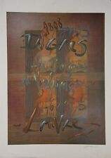 Richard TEXIER - Estampe originale - Lithographie - Ingres, la baigneuse