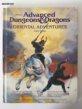 Ad&d Oriental Adventures 2018 Advanced Dungeons & Dragons TSR 1985