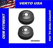 Verto USA Set Of 2 Rear Drums For Toyota Sienna 1998-2003  DR35068X2