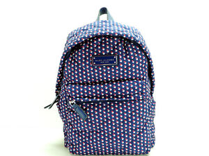 Marc Jacobs Backpack Handbag Blue Print New! NWT