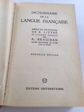 Dictionnaire de la langue française  - É. Littré & A. Beaujean