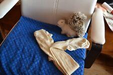 NEUF blanc uni collants fille disponible à partir 2-4 years to 10-12 ans