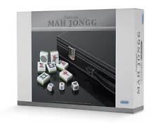 Tradizionale deluxe mAh Jongg Set-nuovissimo in finta pelle case