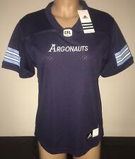 Adidas TORONTO ARGONAUTS Home CFL Official Licensed Women's Jersey M