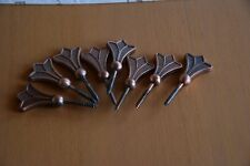 Sargschrauben 8 Stück Kuperfarben Kupfer-Optik Gothic Basteln Kreativ