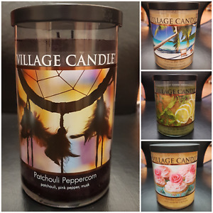 Village Candle Decor Jars Check Out This Listing FREE POST!