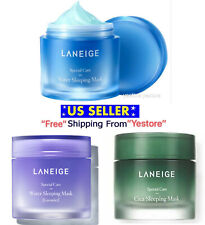Laneige Water Sleeping Face Mask Moisture Cica, Lavender 10~15 ml Lotion -US Sel