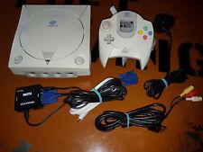 ## SEGA Dreamcast VGA / HDMI Mod Konsole + original Controller + Zub. ##