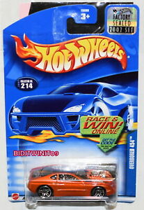 HOT WHEELS 2002 OVERBORED 454 #214 FACTORY SEALED