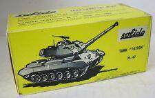 """Repro box solido militaire Nº 202 chars """"patton"""" m-47"""