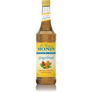 Monin Gingerbread SUGAR FREE 1 litre Syrup