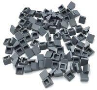 Lego 100 New Dark Bluish Gray Slope 30 1 x 1 x 2/3 Sloped Pieces