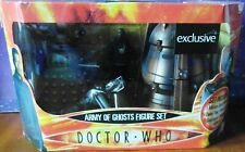 Army of Ghosts Exclusive Figure Set - Mickey Smith Dalek Genesis Ark NEW SEALED