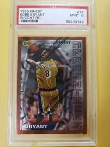 NBA Card Kobe Bryant 1996 Finest Rookie Card PSA9