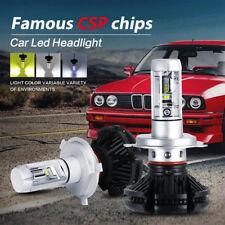 COPPIA LAMPADE X3 LED HEADLIGHT H4 LED CREE 6500K 6000 LUMEN 12V XENON FARI AUTO