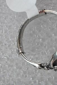 PACK metal NARROW BAND ring guard 1/2 size reducer size adjuster SILVER COLOR