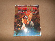 RESIDENT EVIL DEAD AIM   official game guide FREE UK DELIVERY