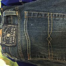 Lucky Brand blue tag zipper  bootcut  Jeans  34 waist 34x32  men's