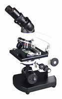 1500x Medical LED Cordless Compound VetnSchool  Binocular Optical Microscope
