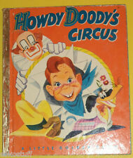 Howdy Doody's Circus 1950 Little Golden Book First Edition Nice See!