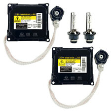 2x New For 06-13 Lexus IS 250 350 Xenon Ballast Igniter & HID D4S Bulb Computer