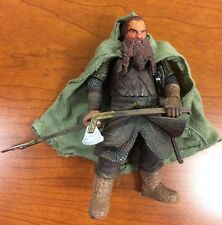 "Lord Of The Rings GIMLI Special Ed Poseable Action Figure 5"" Toybiz"