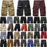 Classic Vintage Shorts Herren Cargo Shorts Kurze Hose Military Camouflage Army